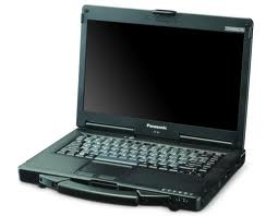 מחשב נייד פנסוניק חצי מוקשח Panasonic Toughbook cf-53 MK3 Intel Dual Core i5-3340M 2.7GHz 14'' 4GB 320GB Win7 Pro