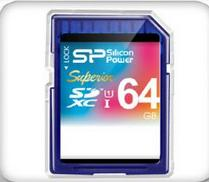 כרטיס זכרון Silicon Power Superior SDXC ...